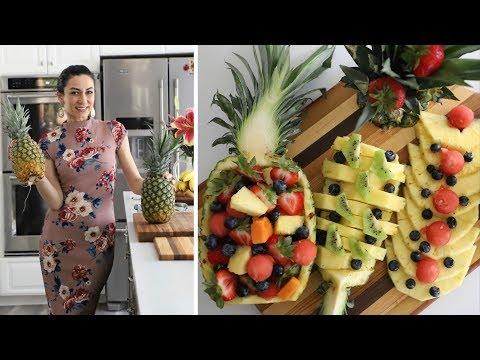 Как Разрезать Ананас - Несколько Способов - Рецепт от Эгине - Heghineh Cooking Show In Russian