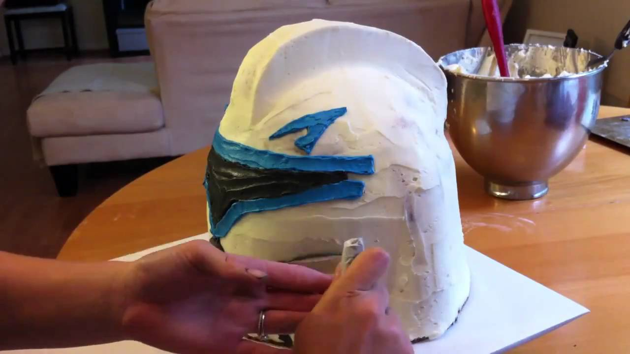 Star Wars Cake How To Make Buttercream Youtube