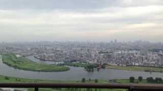 エルザタワー55からの眺め View from ultra-high-rise apartment,Saitama,Japan
