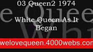 White Queen As It Began (special online music)