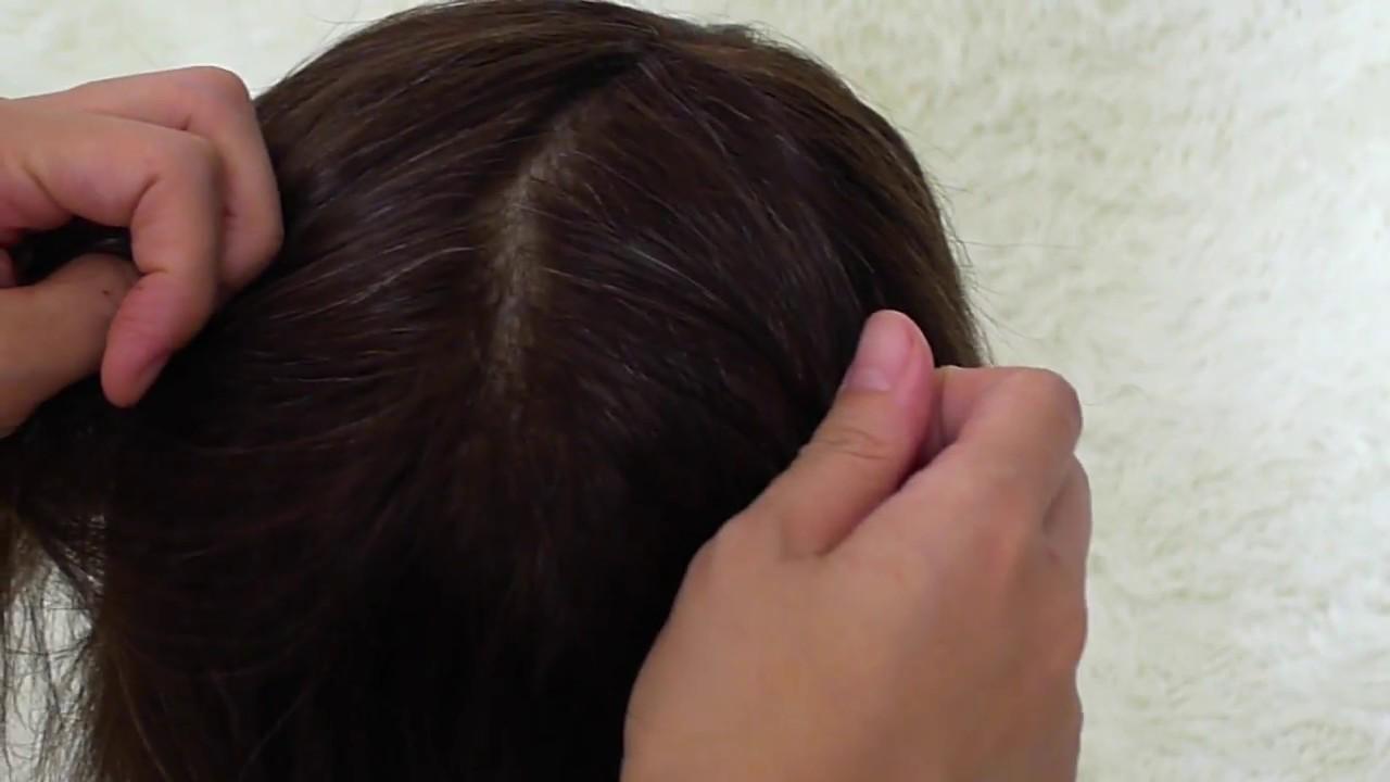 1 GRANDE NOVITÀ  Protesi capelli totale in skin annodato! newlacecu hair  system TV 67c652b19422