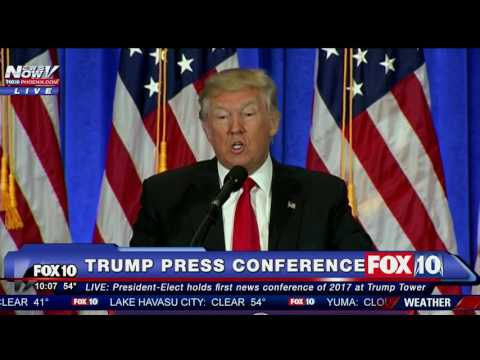 "TRUMP BLATANTLY IGNORES REPORTERS: ""You're FAKE News"" - CALLS OUT CNN - FNN"