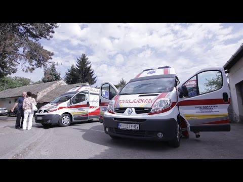 Општина донирала два санитетска возила