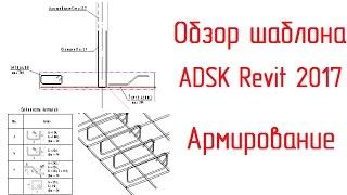 Шаблон ADSK Revit 2017: 05 Армирование