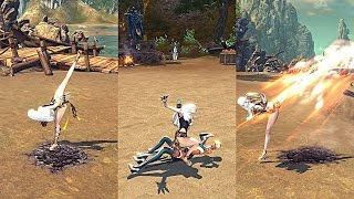 Blade and Soul Kung Fu Master Skill Animations
