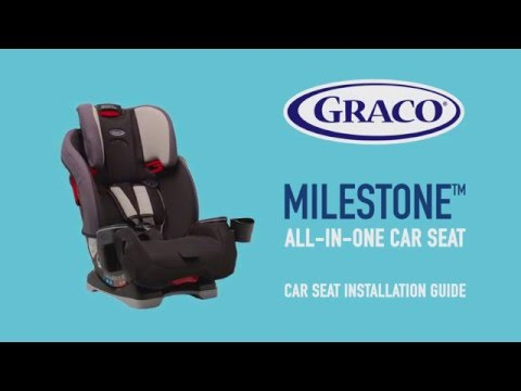 GRACO Milestone Car Seat Installation Guide