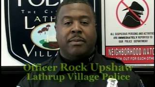 Lathrup Village Neighborhood Watch/Crime Prevention Video