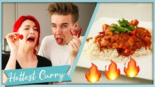 Making the HOTTEST Curry You Can Buy!