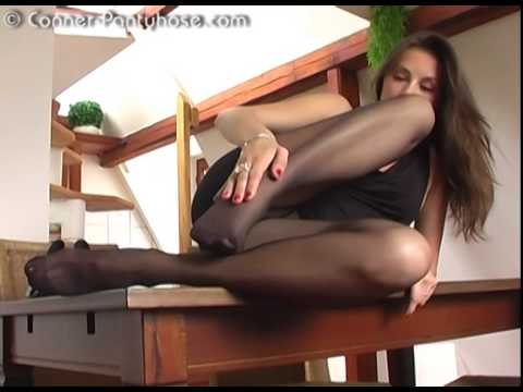 Sexy black girl pantyhose