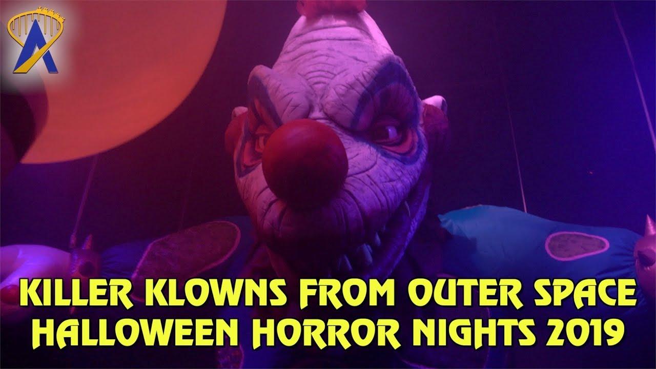 Halloween Horror Nights 2019 Poster.Killer Klowns From Outer Space Highlights From Halloween Horror Nights Orlando 2019