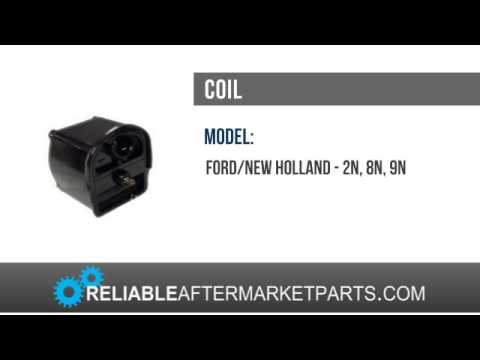 Ford New Holland 6 Volt Front Mount Distributor Coil 2N 8N 9N Tractor