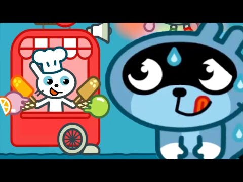 Fun Story Time For Kids - Pango Ice Cream Truck Make Yummy Ice Cream With Pango Story Time