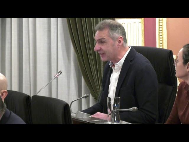 Pleno Extraordinario Concello Ourense 10/01/2020