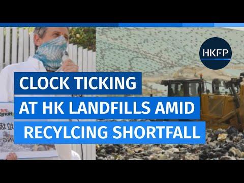 Clock ticking on Hong Kong's landfills amid huge shortfall in recycling