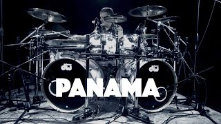 Panama Van Halen Drum Cover Mykie-V