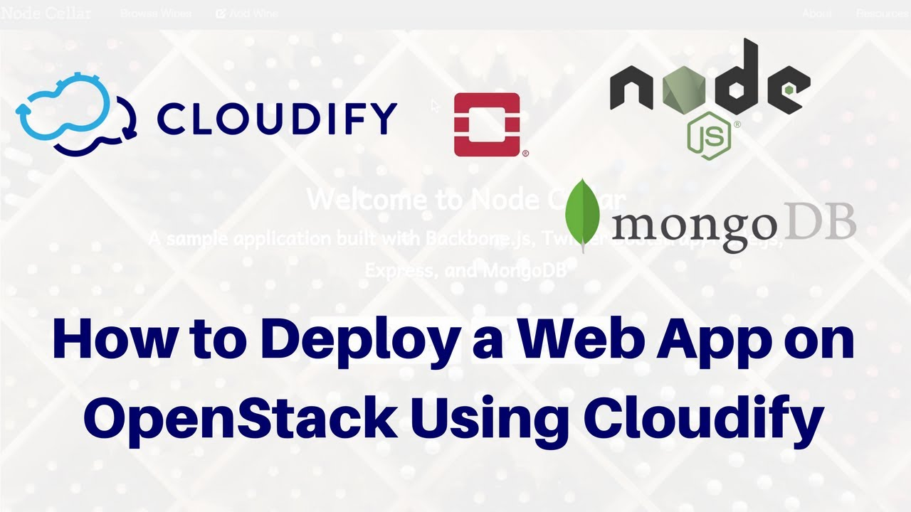 How to automate deployment of a web app on openstack using cloudify how to automate deployment of a web app on openstack using cloudify malvernweather Gallery