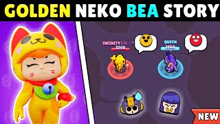 The Story Of Golden Neko Bea Episode - 1 | Brawl Stars Story Time