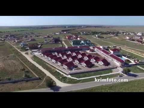 Заозерное район Лимановка, Евпатория Крым с высоты птичьего полета