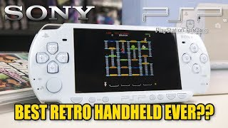 Best Retro Game Handheld to Buy?! The Sony PSP!