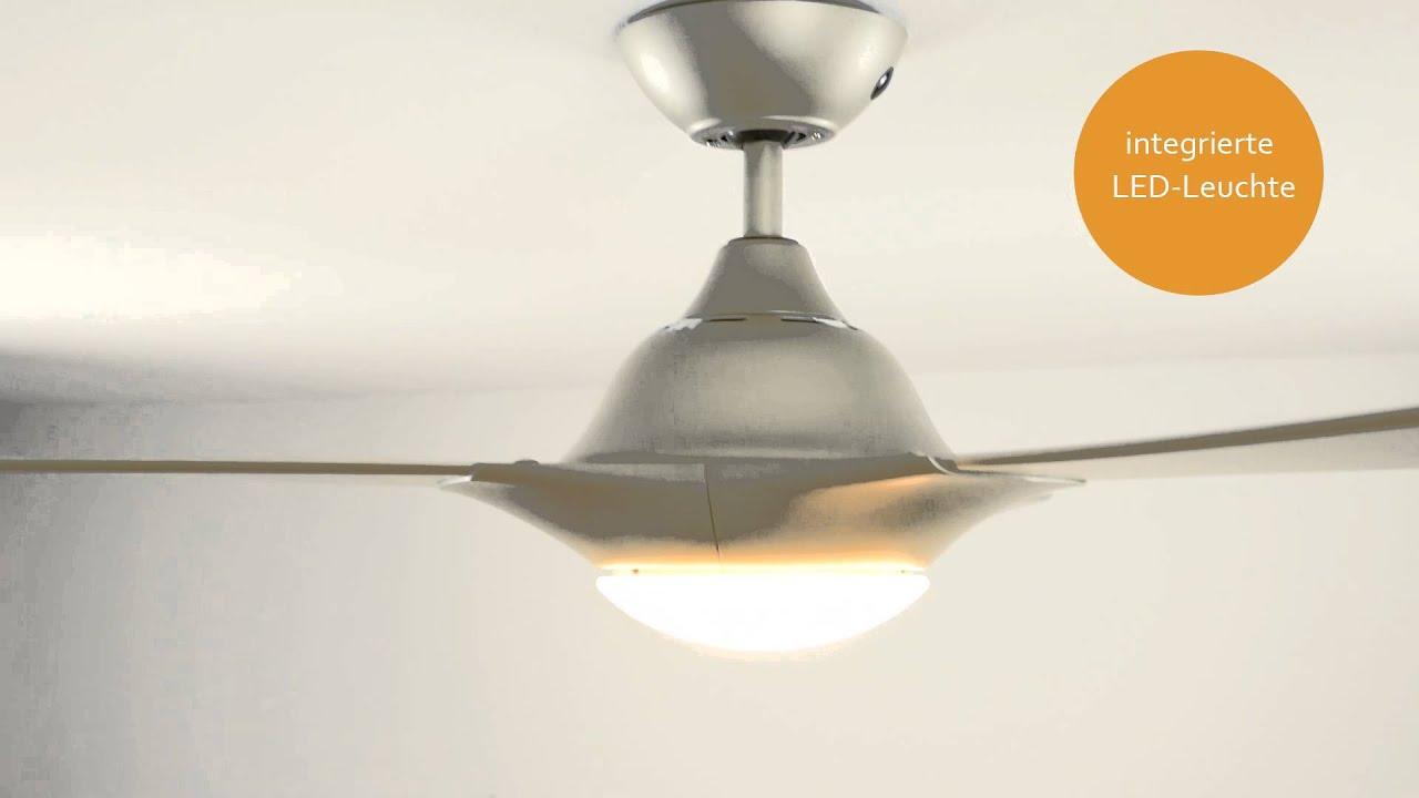 maxresdefault Elegantes Deckenventilator Mit Fernbedienung Und Beleuchtung Dekorationen