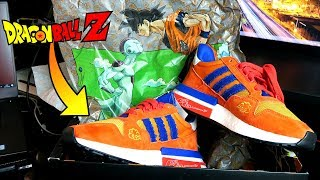Le NUOVE SCARPE ADIDAS di DRAGON BALL Z a 170€ *costoso* Dragon Ball Z Goku Shoes Unboxing ITA
