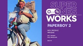 Paperboy 2 retrospective: A game about nothing? | Super NES Works #018
