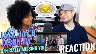 Jaya, Jay R, Jason Dy - Officially Missing You | Artist Lab | REACTION
