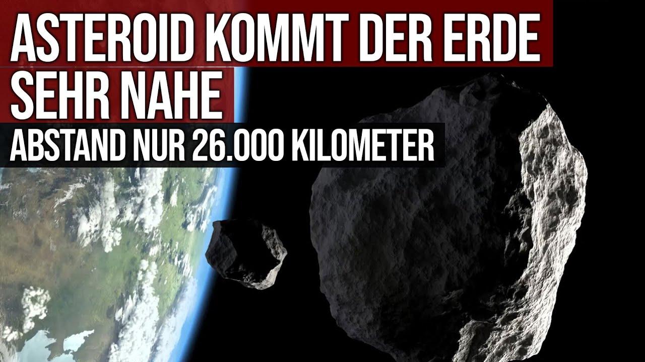 Asteroid kommt der Erde sehr nahe - Abstand nur 26.000 km - 2021 GW4
