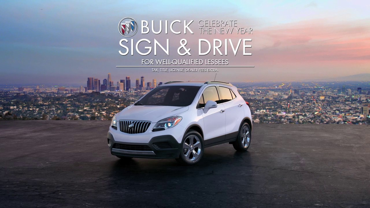0 Due At Signing 2016 Buick Encore 1sb Fwd Lease Special