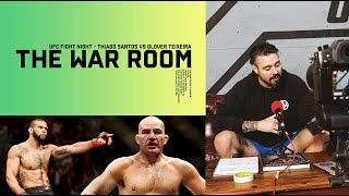 THIAGO SANTOS VS GLOVER TEIXEIRA - THE WAR ROOM, DAN HARDY BREAKDOWN EP. 78