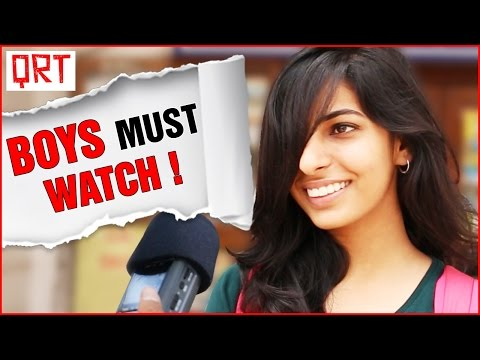 Thumbnail: What Puts GIRLS Off in a Man | Boys MUST WATCH | Quick Reaction Team | Funny Video