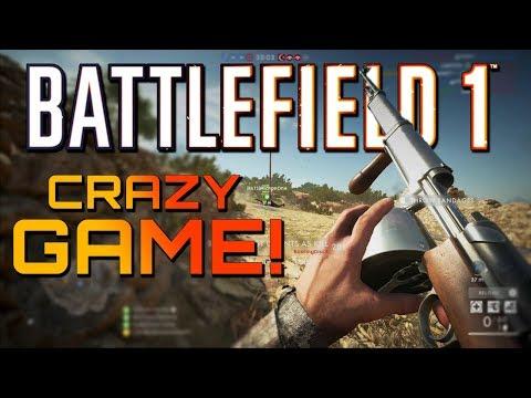 Battlefield 1: 40 Killstreak with NEW GUN and Super Close Game! (4K 60FPS Xbox One X Gameplay)