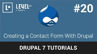 Drupal Tutorials #20 -  Creating a Contact Form With Drupal