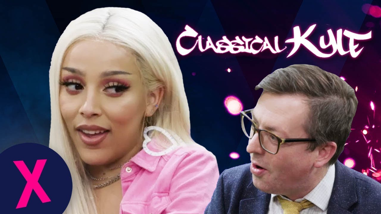 Doja Cat Explains 'Juicy' To A Classical Music Expert   Classical Kyle   Capital XTRA