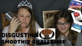 DOG FOOD SMOOTHIE!?! EXTREME DISGUSTING SMOOTHIE CHALLENGE!!!