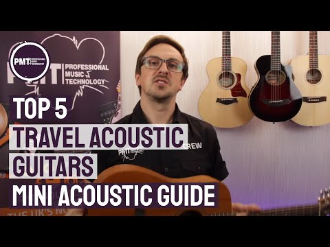 Top 5 Travel Acoustic Guitars -  A Mini Acoustic Guitar Guide