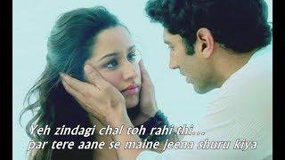 Aashiqui 2 romantic dialogue whatsapp status video