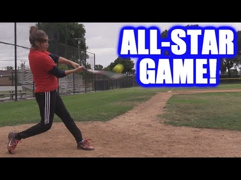 CIARA HITS FIVE HOME RUNS IN THE ALL-STAR GAME! | On-Season Softball Series