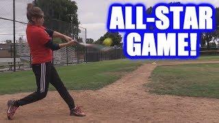 CIARA HITS FIVE HOME RUNS IN THE ALL-STAR GAME! | On-Season Softball Series thumbnail