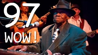 "97 year old stuns crowd. Sings ""BLUES"" at Live Concert"