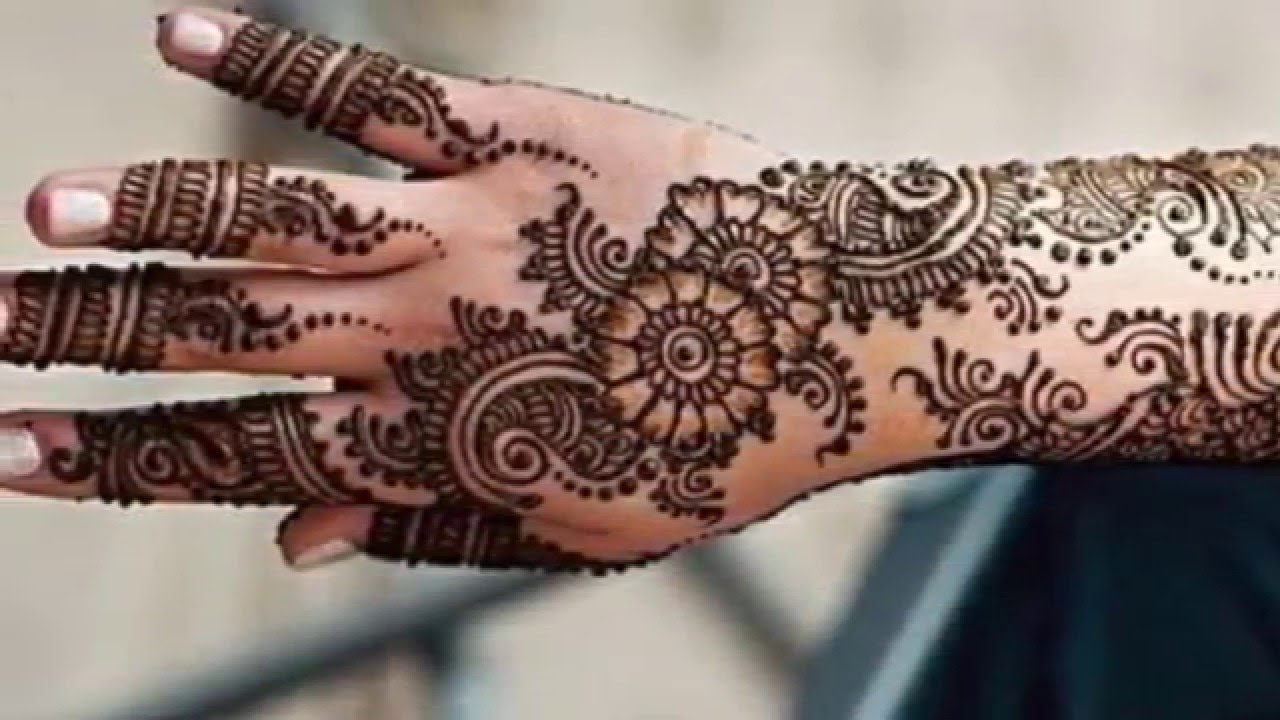 Mehndi Arm Download : Beautiful mehndi designs youtube
