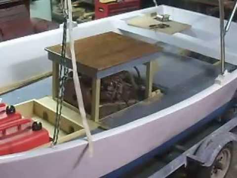 Installing an inboard motor in a small boat update 7 of 13