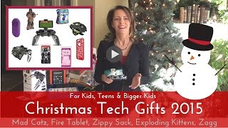 Christmas Tech Gifts for kids of all ages: gaming, tablets, Star Wars, family games, teen gifts