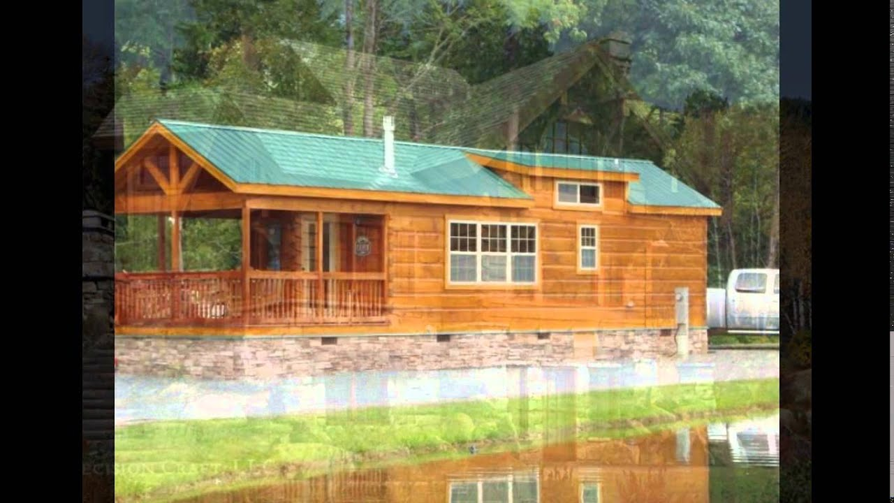 Mobile Home Log Cabins Log Cabin Double Wide Mobile Homes Log Cabin Mobile Homes Youtube