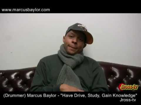 James Ross @ (Super Drummer) Marcus Baylor -