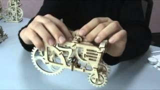 UGears.es Tractor Instruction - Instrucción de Tractor (subtitles)