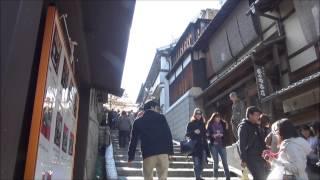 産寧坂(三年坂)~清水寺入口