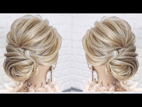 ТЕКСТУРНЫЙ-ЭКСПРЕСС-ПУЧОК,УРОК-КАК-ДЕЛАТЬ-РЕБРЫШКИ|easy-updo-for-bridal,-prom|peinados