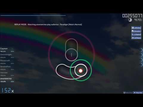 OSU! Eufonius - Paradigm [Melo's Normal] 2016-04-01