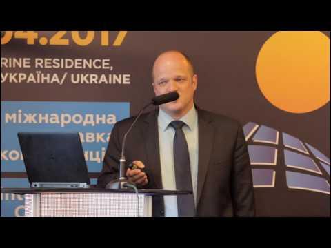 CISOLAR-2017 : Jan Stottko, Senior Sales Manager, Central Europe, SMA Solar Technology AG